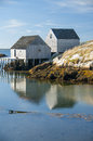 Peggy's Cove in Nova Scotia Canada Royalty Free Stock Photo