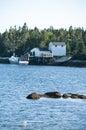 Peggy's Cove in Nova Scotia Canada Royalty Free Stock Photo