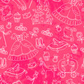Peincess pattern Stock Photo