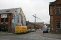 Peinture murale républicaine de bobby sands belfast Image libre de droits
