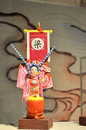 Peking opera a doll it is a femal charactor it is about the wife of a famous general named han shizhong in song dynasty Royalty Free Stock Image