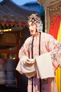 Peking opera singer beijing china may an unidentified actor of performs for tourists on may beijing china becoming a Royalty Free Stock Images