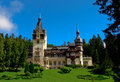 Peles Castle in Sinaia Romania Royalty Free Stock Photo