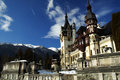 Peles castle Royalty Free Stock Photography