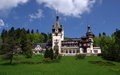 Peles castle beautiful royal sinaia romania Royalty Free Stock Photography