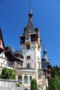Peles castle in muntenia region romania old building in sinaia prahova county Stock Photo