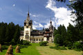 Peles Castle - Romania Stock Image