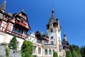 Peles castle romania in muntenia region old building in sinaia prahova county Royalty Free Stock Image