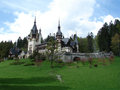 Peles castle romania near sinaia Stock Photos