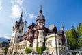 Peles Castle. Sinaia, Romania. Royalty Free Stock Photo