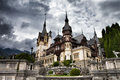 Peles castle,Sinaia,Romania Royalty Free Stock Photo
