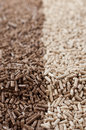Pellets- biomass Royalty Free Stock Image
