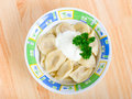 Pelmeni Foto de Stock Royalty Free