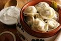 Pelmeni. Royalty Free Stock Photo