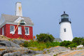 Pemaquid Lighthouse Royalty Free Stock Photo