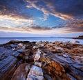 Pemaquid Point Coast Royalty Free Stock Photo