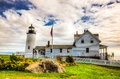 Pemaquid Point Light Royalty Free Stock Images