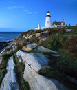 Pemaquid Point Lighthouse Stock Images