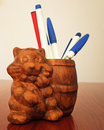 Pen holder Stock Images