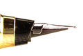 Pen nib close up shot of Royalty Free Stock Images