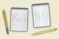 Pen Pencil Notepad
