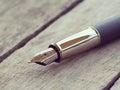 Pen retro vintage style the Stock Photo