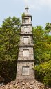 Pen tower circa xix c hanoi vietnam thap bat near the temple of the jade mountain in was erected honoring literature in by Stock Photos