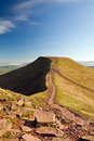 Pen-y-fan Stock Photography