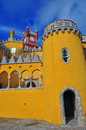 Pena castle in sintra portugal Stock Photography
