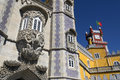 Pena National Palace at Sintra near Lisbon in Portugal