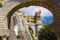 Pena Palace Royalty Free Stock Photos