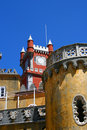 Pena Palace, Sintra, Lisboa Royalty Free Stock Photos