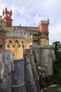 The Pena Palace in Sintra near Lisbon Stock Photography