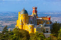 Pena Palace in Sintra - Portugal Royalty Free Stock Photo