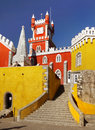 Pena National Palace, Sintra, Lisbon, Portugal Royalty Free Stock Photo