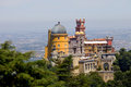 Pena in sintra famous palace of portugal Stock Images