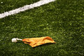 Penalty Flag Royalty Free Stock Photos