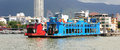 Penang ferry service is the oldest in malaysia located in the state of this famous connects Stock Photography