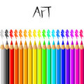 Pencil background Royalty Free Stock Photo