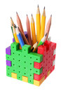 Pencil Box Royalty Free Stock Photos