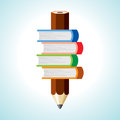 Pencil button Royalty Free Stock Photo