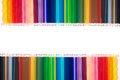 Pencil colors isolate Royalty Free Stock Photo