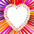 Picture : Pencil heart with cute