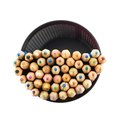 Pencil holder full of pencils Royalty Free Stock Photo