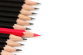 Pencil Leadership Royalty Free Stock Photo