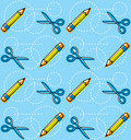 Pencil Pattern Stock Images