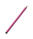 Pencil purple isolated on pure Royalty Free Stock Photo