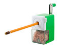 Pencil-sharpener Royalty Free Stock Photos