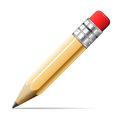 Pencil vector illustration of detailed beautiful icon Royalty Free Stock Photography