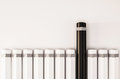 Pencils arrange in a row with unique one standout from the others d rendered Royalty Free Stock Photos
